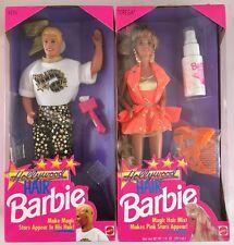 BARBIE  - TERESA & KEN HOLLYWOOD HAIR NRFB 1992