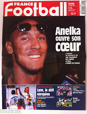France Football du 10/08/1999; Anelka ouvre son coeur/ Lyon le défi/ Intertoto