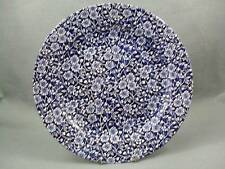Queen's victorian calico bleu dinner plate