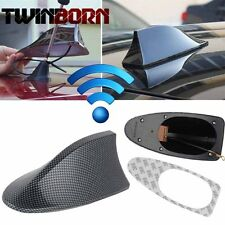 Carbon Fiber Auto Shark Fin Roof Antenna Radio FM/AM Decorate Aerial Fit For BMW