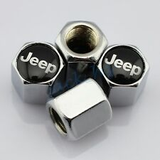 Silver Style Car Truck Wheel Tire Tyre Valve Air Caps Cover For Jeep Accessories