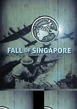 FALL OF SINGAPORE 1942 - LAPEL PIN WW2 - MINT