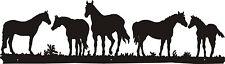 Five Horses Metal wall Art
