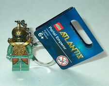 KEY CHAIN Lego Atlantis Portal Emperor  NEW with Tags