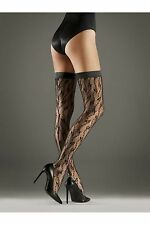 Wolford Lilie Stay Up Black Medium