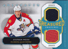 2013-14 STEPHEN WEISS JERSEY UD ARTIFACTS TREASURED SWATCHES #TS-SW
