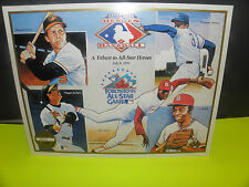 MLB UPPER DECK HEROES OF BASEBALL =JULY 8, 1991- TORONTO ALL-STAR GAME CARD