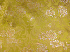 Gold Baroque Italian Made Brocade Fabric. (Simply exceptional)