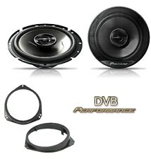 Vauxhall Corsa 1993-2006 Pioneer 17cm Front Door Speaker Upgrade Kit 240W