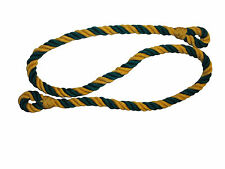 BRITISH ARMY LANYARD - GREEN AND GOLD IN COLOUR - GOOD CONDITION