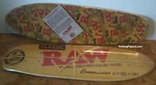 "New! RAW Rolling Papers Classic SKATEBOARD DECK 7 1/4""X24"" 7-Ply American Maple"