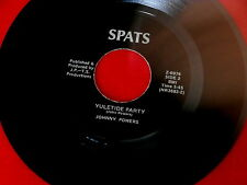 JOHNNY POWERS~YULETIDE PARTY~A MONSTER~OUT OF PITTSBURGH~SPATS~INST~JAZZ~FUNK 45