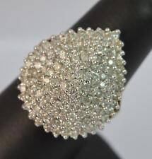Huge 2.00 Carat Diamond 9ct Gold Ladies Bling Ring d0608