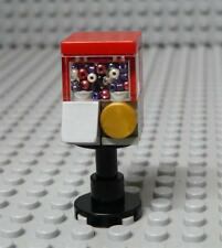 Lego Custom Red GUMBALL MACHINE Minifigures Furniture Food x 1PC