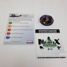 Heroclix Captain America set Capwolf #061 Chase figure w/card!