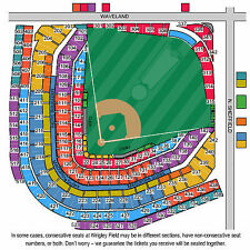 4 Chicago CUBS vs MIL Brewers Tickets 09/21/15 (Chicago)