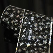 Sticker Holographique Papier Autocollant Soleil Brillant Décor Pour Ongle Art