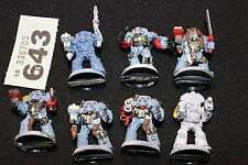 Games Workshop Warhammer 40k Space Wolves Terminators Wolf Guard Metal Army Lot