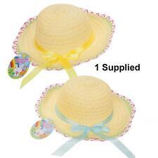 Huevo de Pascua Artes Artesanía Bonnet caza-Bonnet Sombrero de Verano con cinta