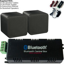 Wireless/Bluetooth Amplifier & 80W Background Speaker Kit – Home Cinema HiFi Amp
