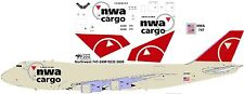 Northwest Cargo Boeing 747-200F decals for Revell 1/144 kit