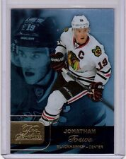 JONATHAN TOEWS 15/16 Fleer Flair Showcase Hockey Card #Row 1 Seat 22 Blackhawks