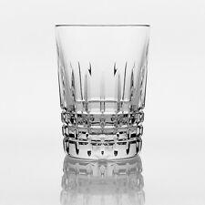 Brilliant - Luxembourg Crystal Clear Scotch Tumbler Glass 6 oz. (180ml) Set of 2