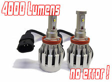 H11 Gen 4 Cree LED Headlight Bulbs Conversion Kit 40W Mitsubishi L200 2010+