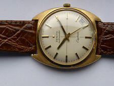 "Vintage Herrenuhr "" ZENITH-CAPITAN "" Swiss Made, Automatik,18K/750-er Gold,"