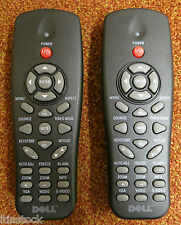 2 x DELL Projector Remote Controls IR2804 1210S 1410X 1510X