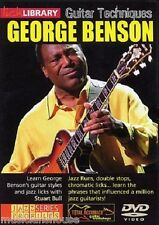 LICK LIBRARY GUITAR TECHNIQUES GEORGE BENSON Learn to Play Jazz Runs Lesson DVD