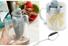 Manatee Infuser Silicone Loose Tea Leaf Strainer Herbal Spice Filter Diffuser
