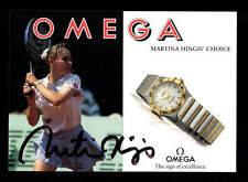 Martina Hingis Autogrammkarte Original Signiert Tennis + A 149924