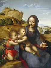 DE LA ALMEDINA SPAIN MADONNA CHILD SAINT JOHN ART PRINT BB4948A