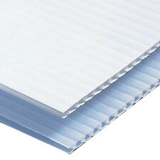 "Corrugated Plastic Sign Blank  Sheets 18""x12"" Short Fluted 4mm Coroplast -"