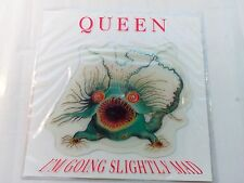 "Queen - I'm Going Slightly Mad - UK 1991 7"" shaped picture disc"