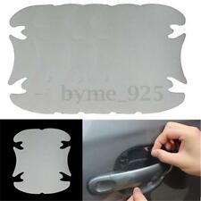 4X Car Door Clean Scratch Handle Protector Film Adhesive Transparent Stickers