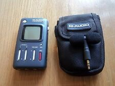 M-Audio M Audio Microtrack II Digital Voice Recorder Stereo Electret Microphone