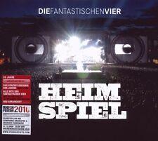 """DIE FANTASTISCHEN VIER """"HEIMSPIEL (LIVE)"""" 3 CD SET NEU"""