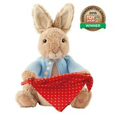 Gund Beatrix Potter Peter Rabbit Peek-a-Boo NEW Plush Soft Toy Baby Gift