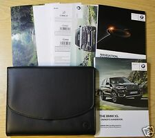 GENUINE BMW X5 HANDBOOK NAVIGATION OWNERS MANUAL 2013-2015 PACK 8476 !