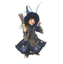 WITCHES of Pendle-ROSMARINO CUCINA WITCH appesa o seduta (BLU) 35cm