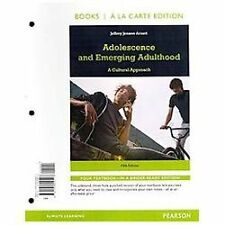 Adolescence and Emerging Adulthood, Books a la Carte Edition (5th Edition)