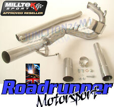 MILLTEK SSXVW192 LEON FR 2.0 TDI 170PS DPF REMOVAL DELETE PIPE EXHAUST STAINLESS