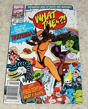 WHAT THE --?: MARVEL COMICS - ORIGIN of WOLVERINA - Vol. 1 #11 March, 1991