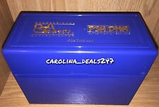 NEW PSA Sports Blue Plastic Display Storage Case Box Graded Card Protection