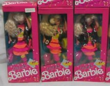 ONE NRFB 1990 COOL LOOKS BARBIE DOLL #5947 MATTEL HIP FASHION FOR HOT TIMES