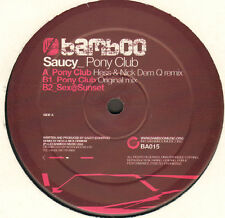 SAUCY - Pony Club - Bamboo Music