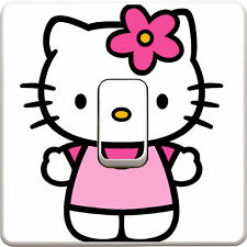 Hello Kitty Light Switch Vinyl Sticker Decal for Kids Bedroom #175