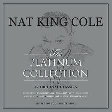 Nat King Cole PLATINUM COLLECTION 150g BEST OF New WHITE COLORED VINYL 3 LP